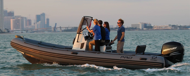Pro 7 Zodiac rubberboot