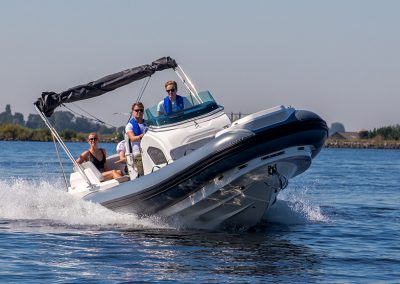 Zodiac Medline 9 Rib Yamaha Zodiac Rubberboat